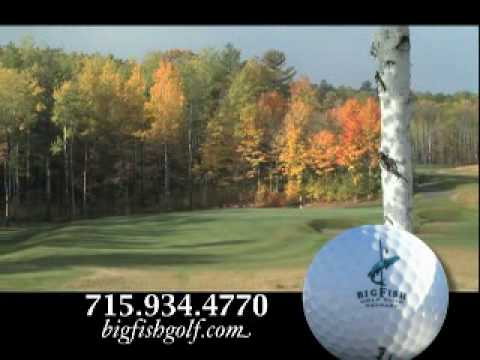 Big fish golf club youtube for Big fish golf