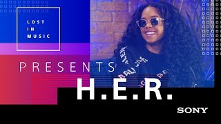 "H.E.R. on GRAMMYs, Guitars, & Snakes + ""Carried Away"" LIVE #LostInMusic"