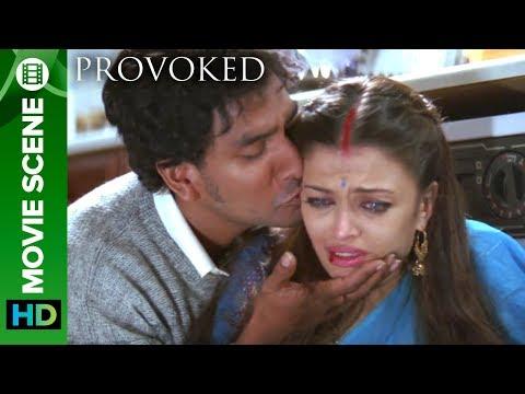 The First Hit On Kiran | Aishwarya Rai And Naveen Andrews | Hollywood Movie Provoked Hindi Dubbed