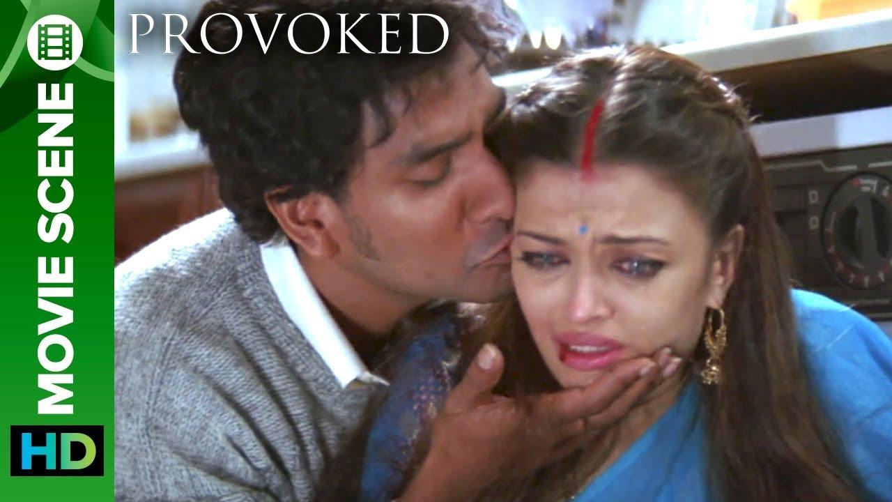 The First Hit On Kiran | Aishwarya Rai And Naveen Andrews ...