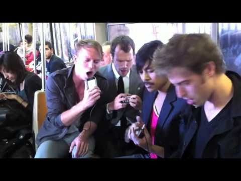 """""""Take Me Out"""" by Atomic Tom LIVE on NYC subway"""