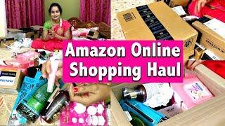 Amazon Shopping Haul | Unboxing & Product Review | Amazon India Huge Shopping Haul