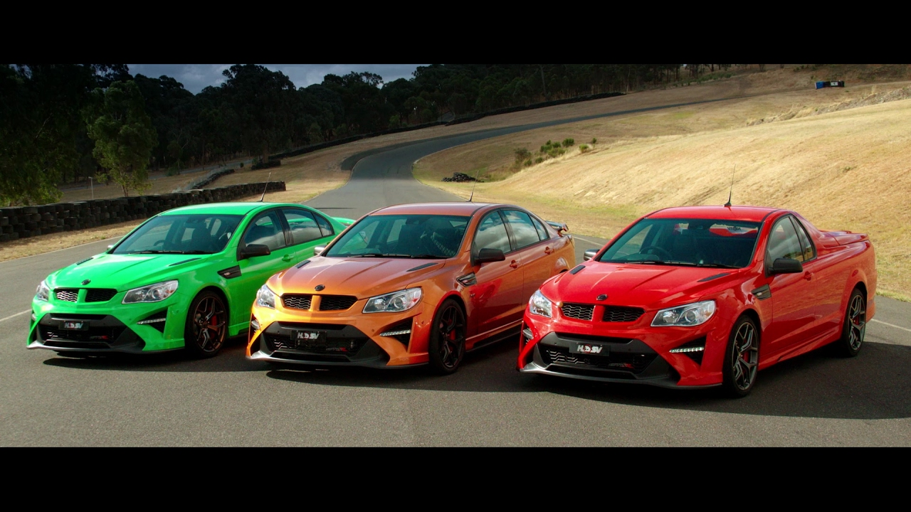 HSV GTSR Range Launch - YouTube