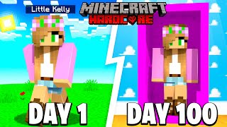 I Survived 100 DAYS as a TOY in Minecraft ... Here's What Happened