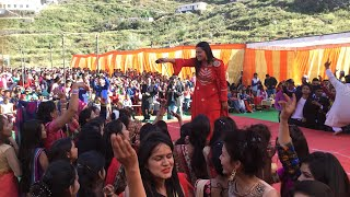 गाऊँली लस्का कमर || Maya Upadhyay || New Live Dehradun Uttarakhand