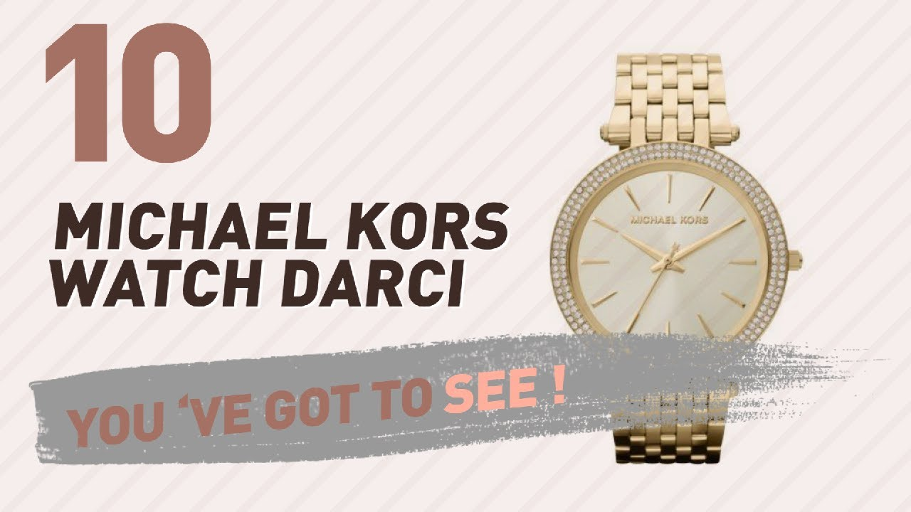 d2b736315879 Michael Kors Watch Darci    New   Popular 2017 - YouTube