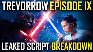 STAR WARS: EPISODE 9: DUEL OF THE FATES Original Colin Trevorrow Script Breakdown