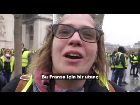Fransa'da Sarı Yelekliler rüzgarı