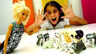 Видео для девочек - Барби открыла отель для собак