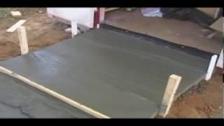 How to ... Pour a Concrete Ramp, Concrete Pad, Concrete Padio, Concrete Sidewalk