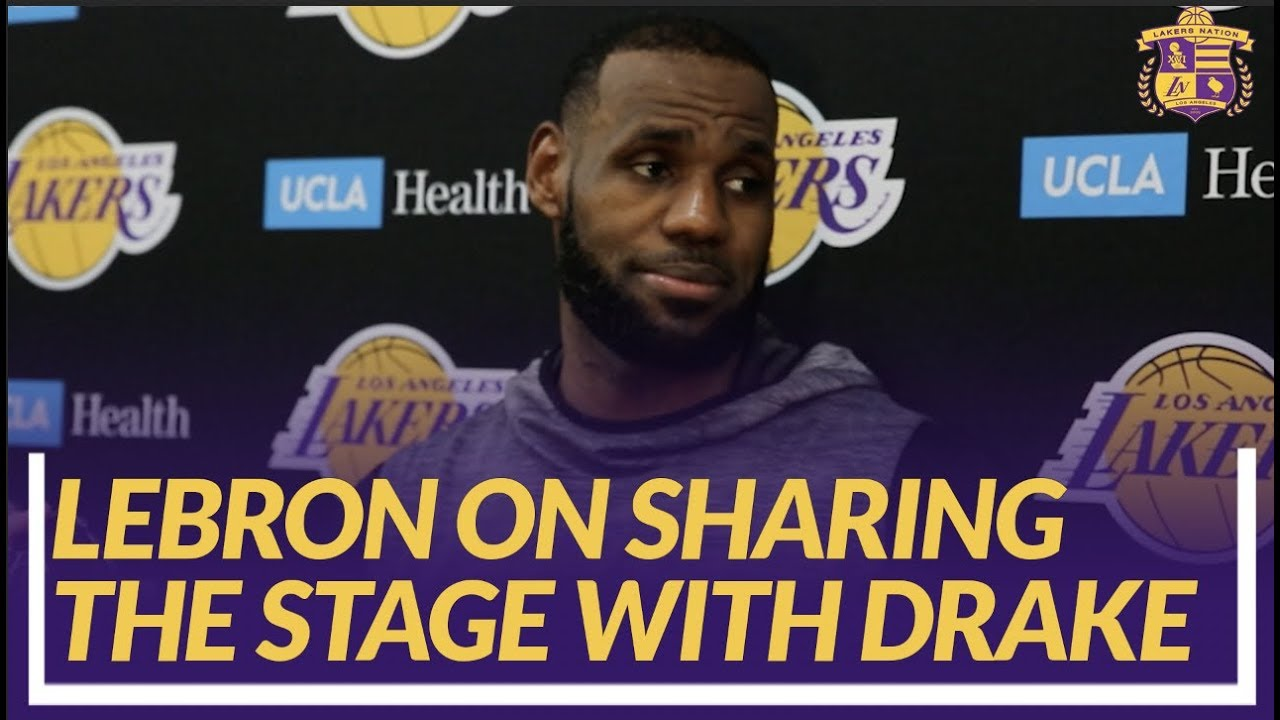 lakers-nation-interview-lebron-on-matchup-with-blazers-sharing-stage-with-drake-at-staples
