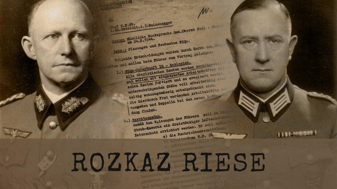Rozkaz Riese – Ujawnione niemieckie dokumenty FHQ