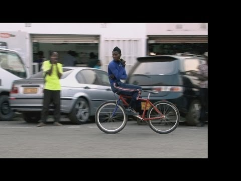 Faces of Africa - The Bicycle boy