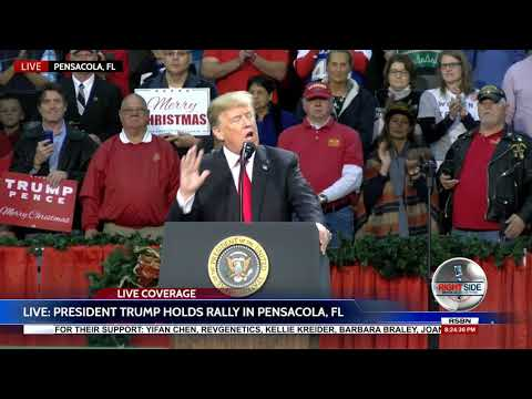 FULL SPEECH: President Donald Trump at MASSIVE Rally in Pensacola, FL 12/8/17