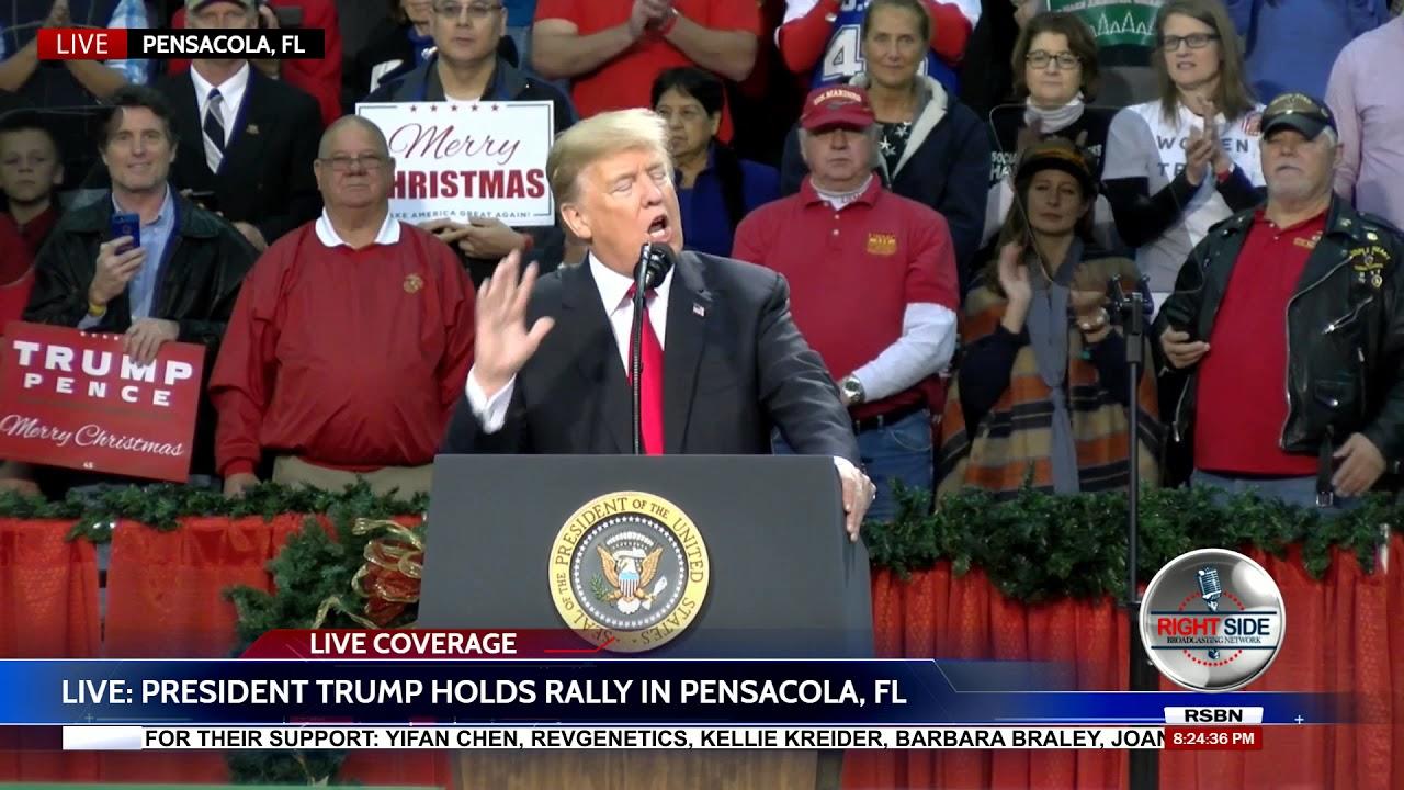 FULL SPEECH President Donald Trump at MASSIVE Rally in Pensacola FL 12 8 17