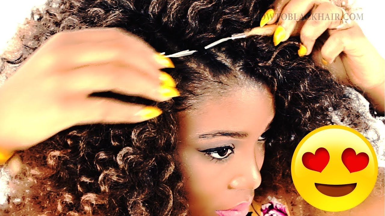 How To Crochet Braids For Beginners Step By Step Youtube