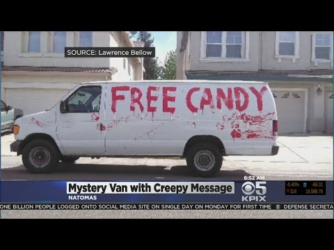 Mystery Behind Creepy 'Free Candy' Van Seen Roaming Sacramento Solved
