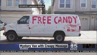 Mystery Behind Creepy 'Free Candy' Van Seen Roaming Sacramento Solved