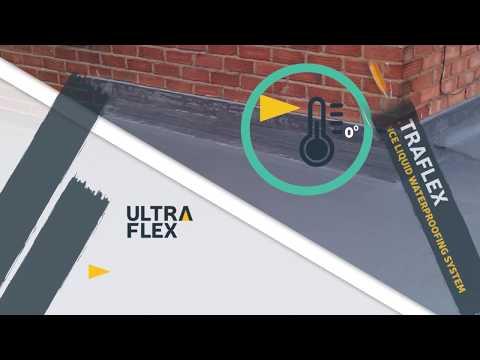 Ultraflex - High performance liquid waterproofing system