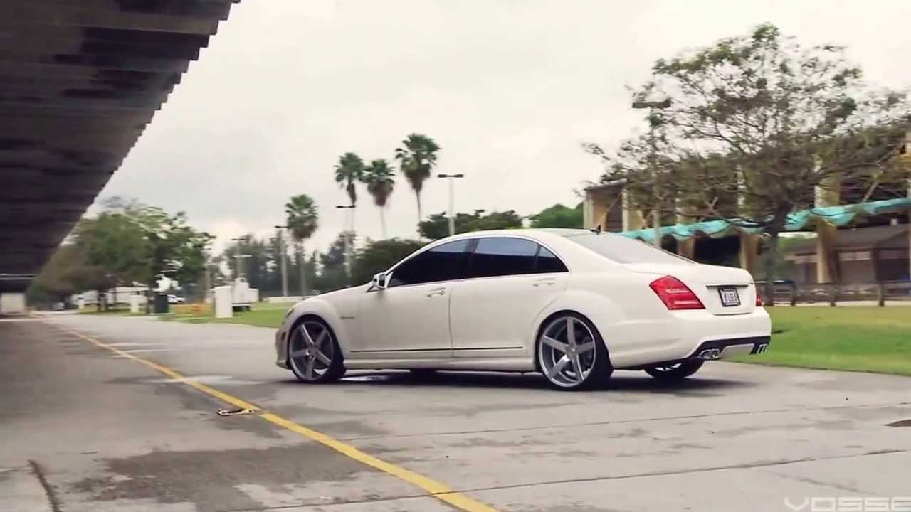 Mercedes Benz S63 Amg On 22 Vossen Vvs Cv3 Concave Wheels Rims Youtube
