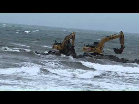 Borth sea Defences June 2011 part 4