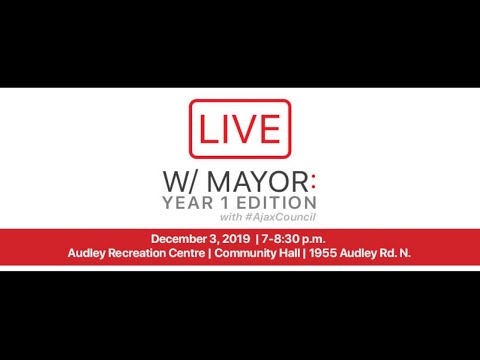LIVE: Townhall with Mayor Collier - December 3, 2019