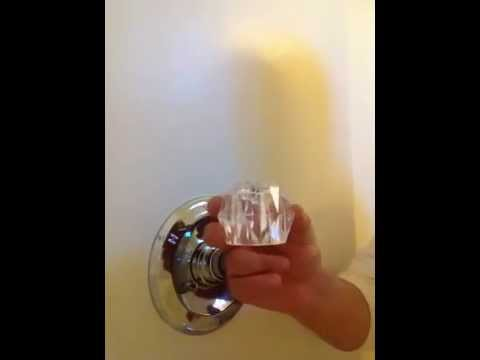 How to change out delta tub and shower cartridge - YouTube