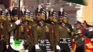 Indian army in Moscow Victory day