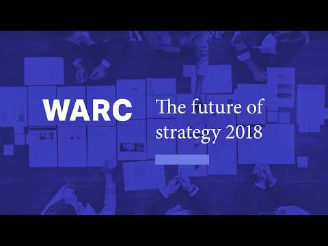 WARC: Future of Strategy 2018
