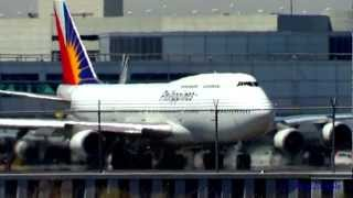 "[RP-C7473] Rare  ""Afternoon Departure"" PR 905 PAL 747-400"