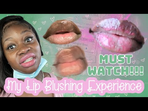 Lip Blushing On Dark Lips 😬 Must Watch Before You Get This Done ‼️‼️‼️