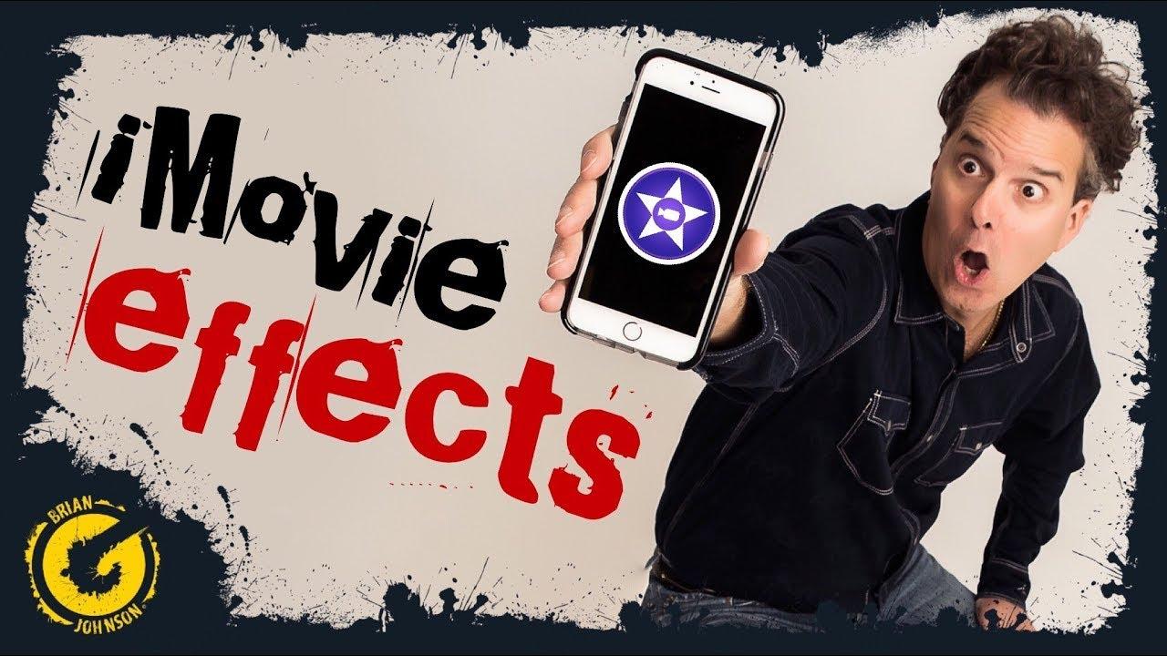 iMovie Special Effects - iPhone iPad iOS - iMovie Tricks & Hacks