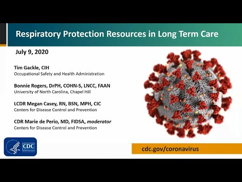 Respiratory Protection Resources In Long Term Care
