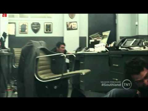 Southland Season 4 episode 1  Police Station Shootout