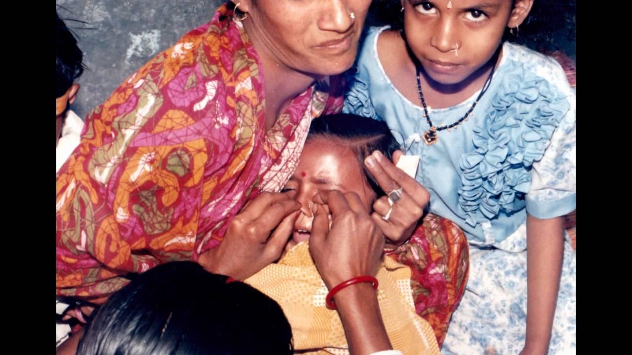 nose piercing indian women - YouTube