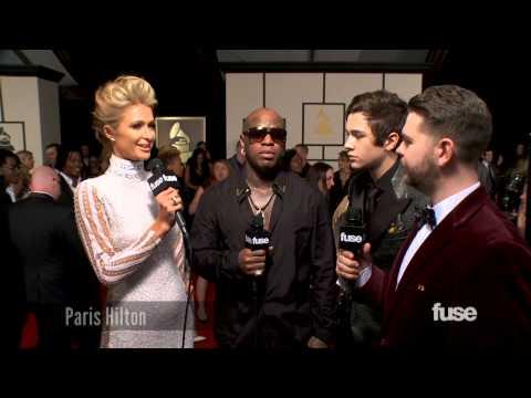Paris Hilton & Birdman on Her Cash Money Debut - GRAMMY Red Carpet