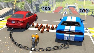High Speed Jumps/Crashes #49 - BeamNG Drive Crash Testing
