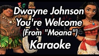 Dwayne Johnson - You