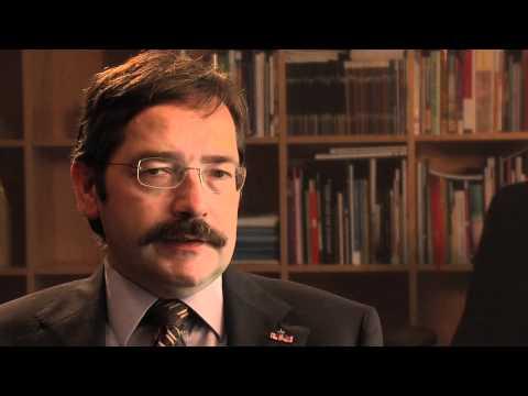 Interview met Theo Bovens tijdens werkconferentie Krimpuls