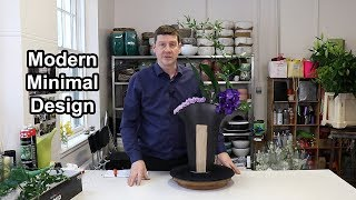How To Make A Contemporary Vanda Orchid Design Youtube