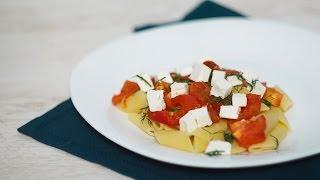 Паста с запечеными помидорами [ рецепты TastyDishes ]