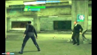 The Matrix Path Of Neo Xbox Gameplay Neo Vs Agent Smith