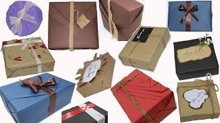 Top 10 Gift Wrapping Techniques, New ideas for gift wrapping || How to Wrap a Gift