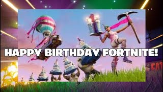 Fortnite Birthday Skins! Update [5.1] New Guns,Battle Bus,And more!