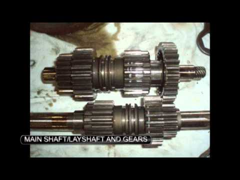 triumph preunit 4 speed gear box disassembly - youtube