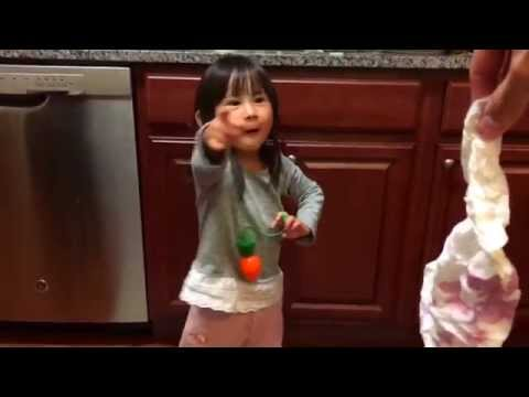 My daughter's voice is ridiculous at half-speed