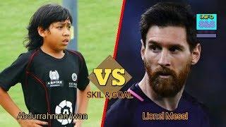 Luar Biasa Skill Pemain Bola Indonesia Ini Menyamai Messi