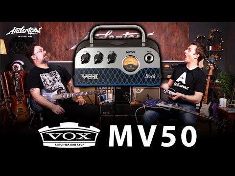 Vox MV50 Amps - Huge Tones, Light as a Feather!