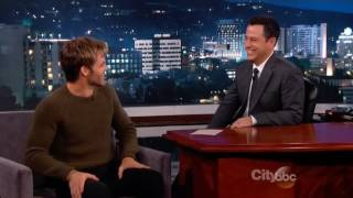 Jimmy Kimmel 2014 01 16 Chris Pine Fly Me to the Moon