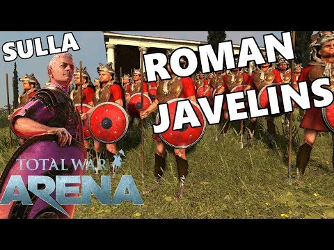 Total War ARENA - Roman Javelins - Trying To Stay Alive!